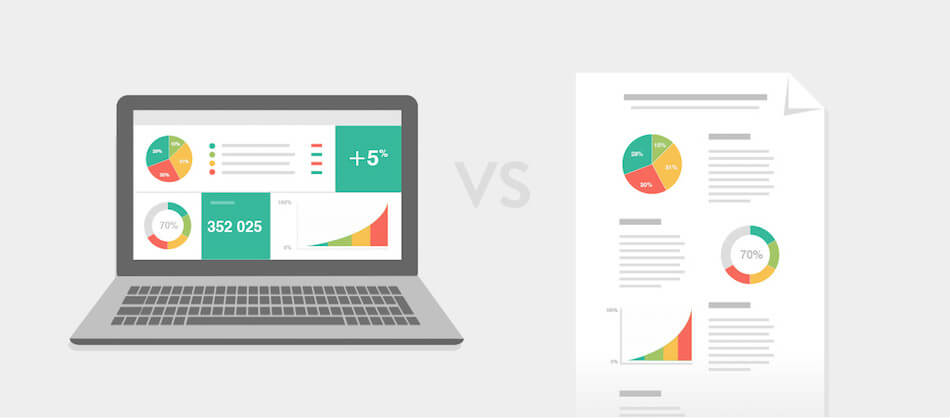 The difference between a dashboard and a report is subtle but important - SEO Reporting Dashboard Article | DashThis