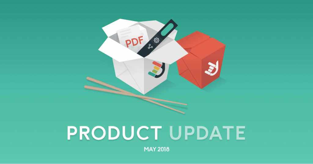 May 2018 Product Update