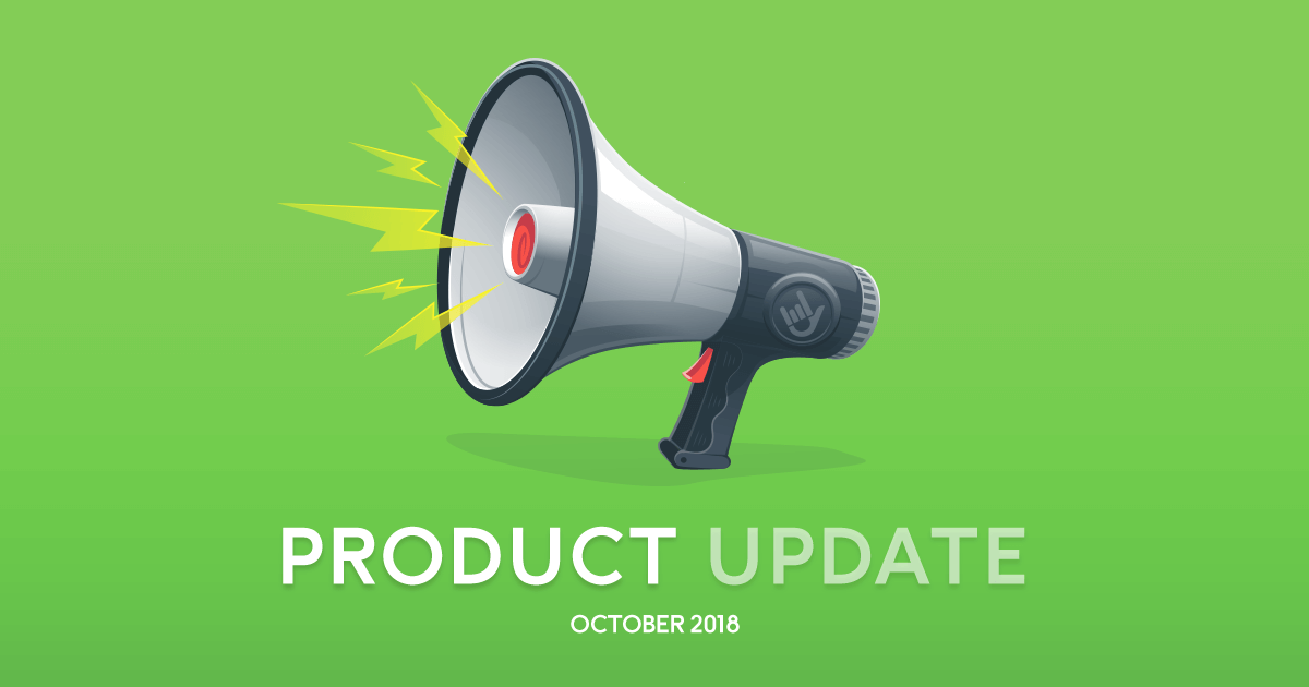 product Update october