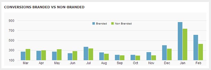 branded vs non branded google analytics filter